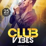 Club Vibes - Download Free PSD Photoshop Flyer Template