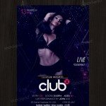 Club X - Download Free PSD Flyer Template