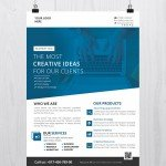 Creative Business – Download Free PSD Flyer Template