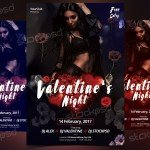 12 Valentine's Free PSD Flyers Template to Download for Free