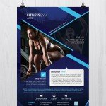 Fitness and Gym - Free Photoshop PSD Flyer Template