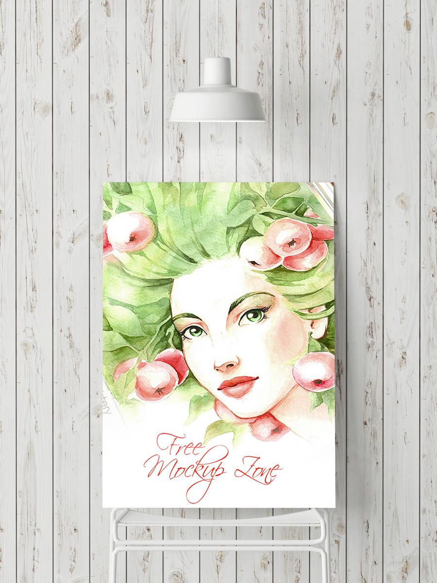 Poster Presentation – Download Free PSD Mockup