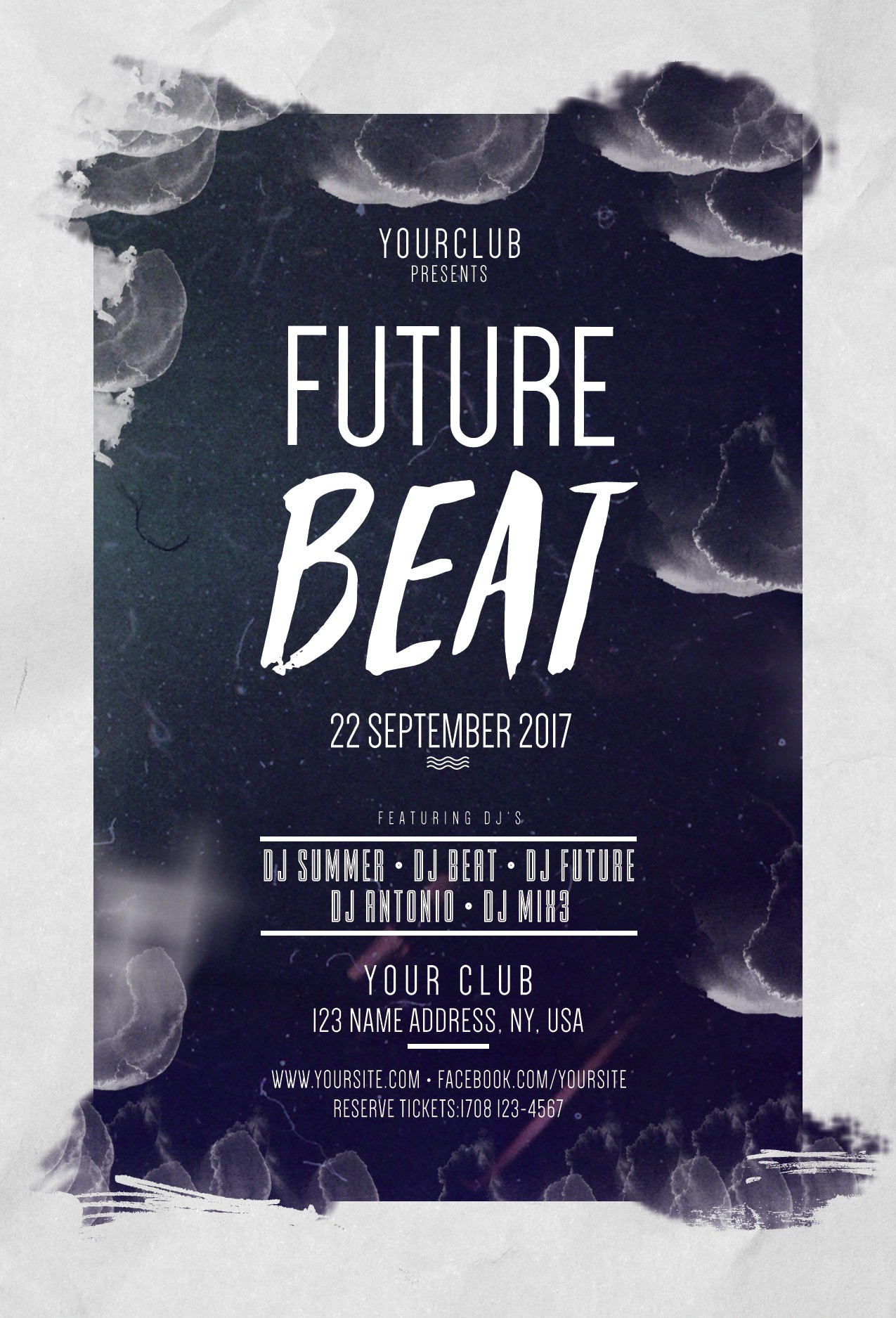x mas party psd flyer net future beat bie psd flyers templates