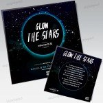 Glow the Stars – Free PSD Mixtape Cover Artwork
