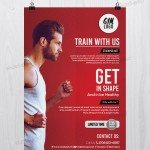 Fitness & Gym - Free PSD Flyer Template