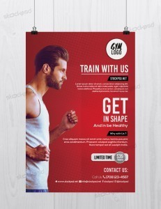 Fitness & Gym – Free PSD Flyer Template