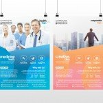 Business and Medicine Health - Free PSD Flyer Template to Download