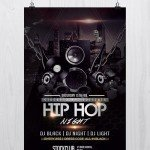 Hip Hop Music – Download Free PSD Flyer Template
