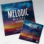 Melodic Mixtape - Free PSD Mixtape Cover Artwork