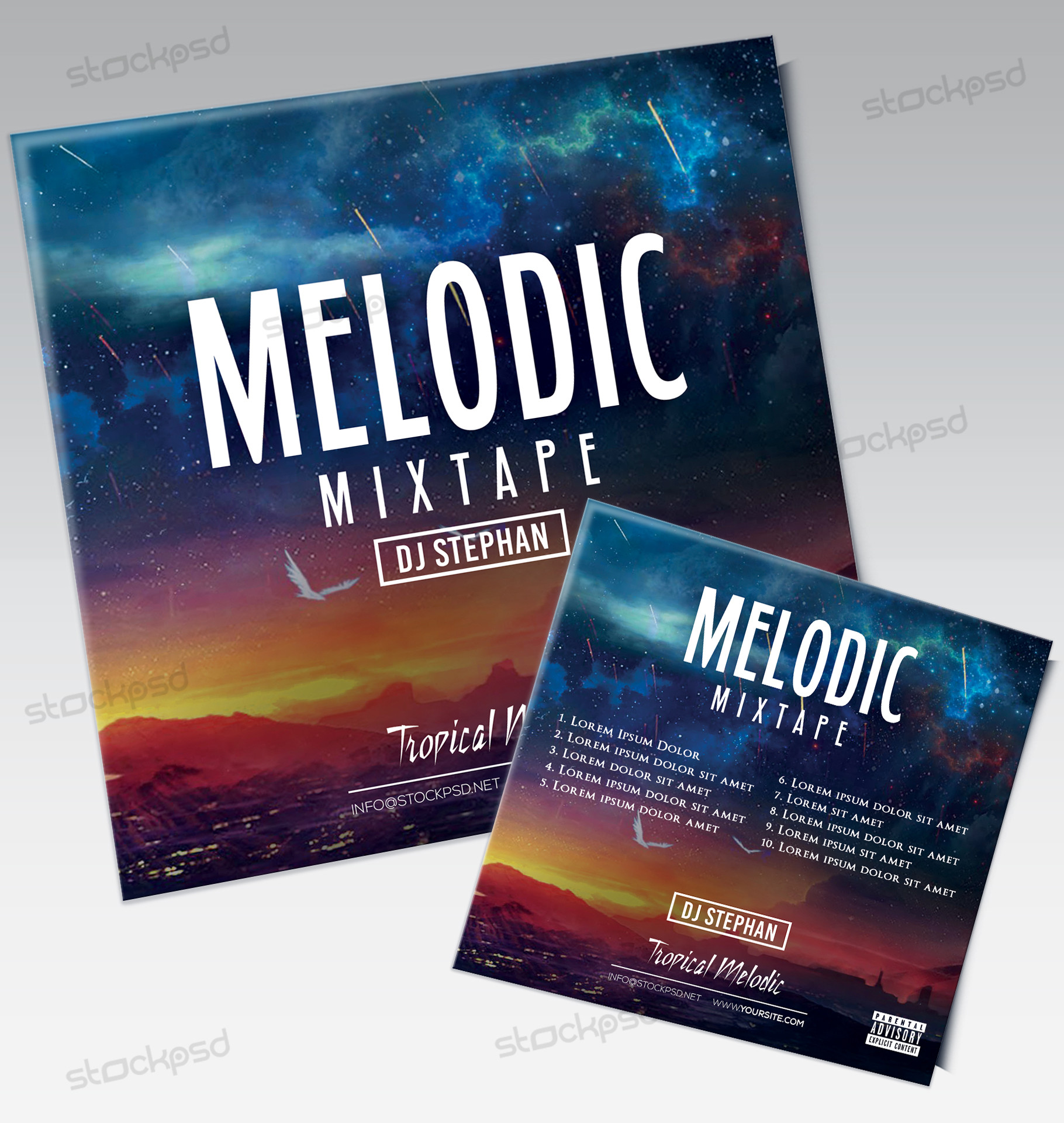 Free Mixtape & Album Art | Freebie PSD Templates - Stockpsd net