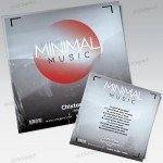 Minimal Music – Mixtape Cover Artwork PSD Template