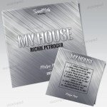 My House - Free PSD Mixtape Cover Artwork