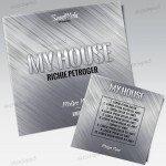 My House – Free PSD Mixtape Cover Artwork