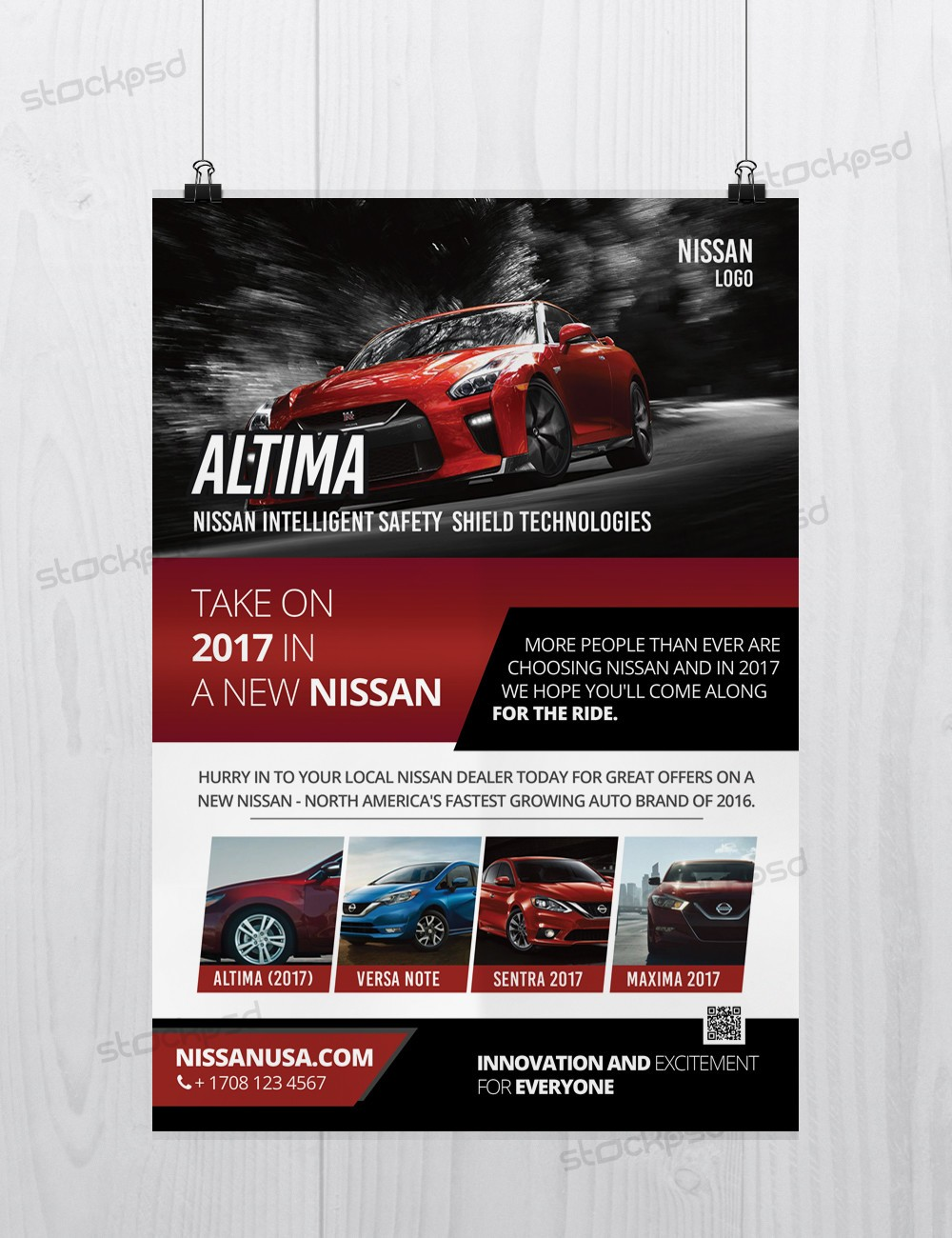 stockpsd net freebie templates nissan altima car free psd