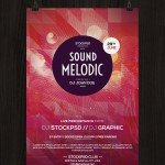 Sound Melodic – Free PSD Flyer Template