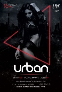 Urban – Download Free PSD Flyer Template
