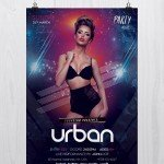 Urban Party – Download Free PSD Flyers Template