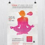 Yoga Studio - Free PSD Flyer Template