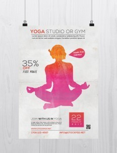Yoga Studio – Free PSD Flyer Template