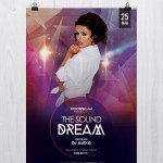 The Sound Dream - Freebie PSD Flyers Templates