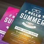 Summer Beach Party - Premium PSD Flyer Template