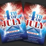 4th of July – PSD Flyer Template