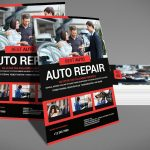 Auto Repair – PSD Photoshop Flyer Template