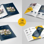 Brochure Template – 16 Photoshop PSD Pages