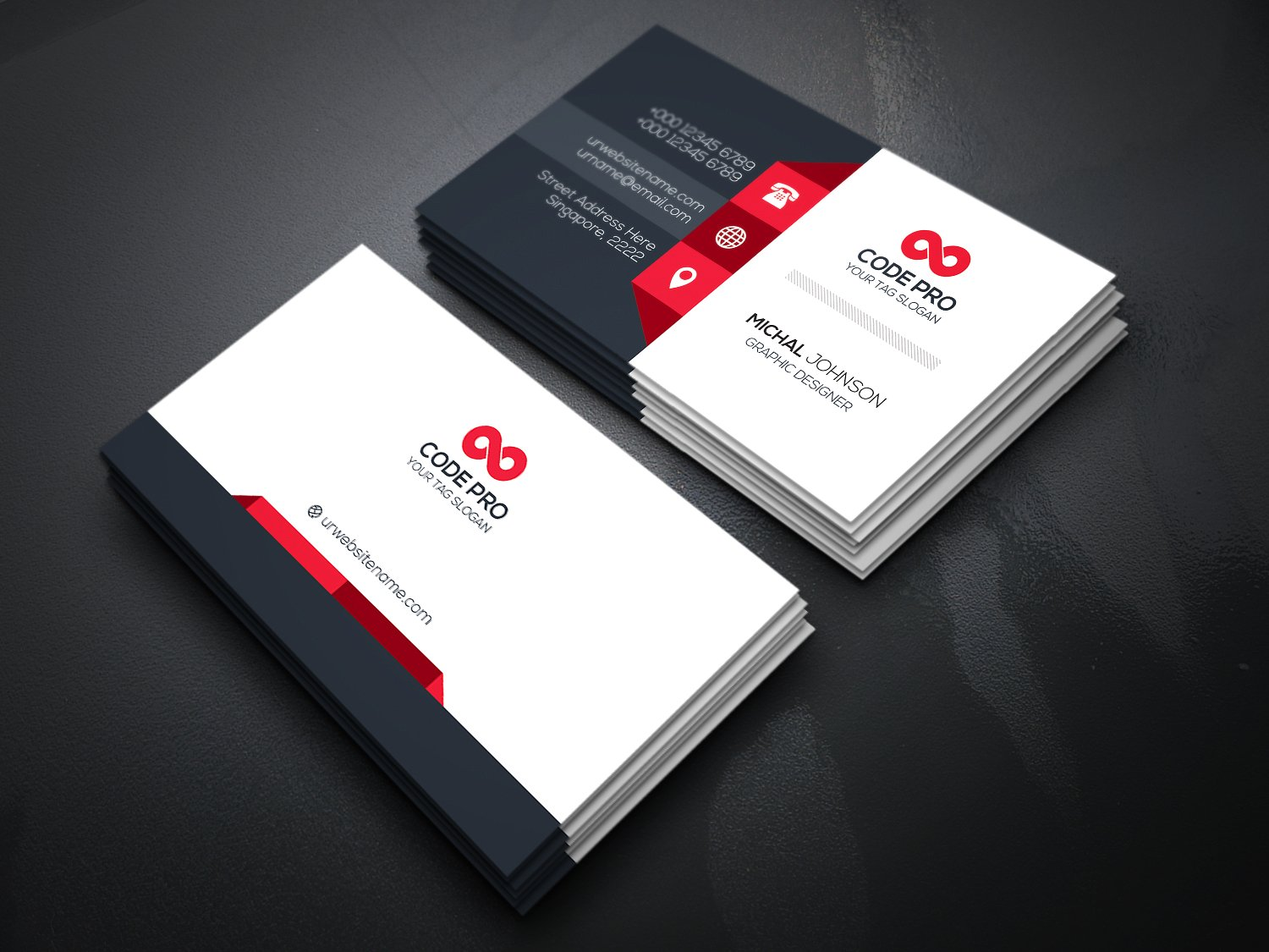 Stockpsd.net – Freebie Templates | Business Card - Premium PSD ...