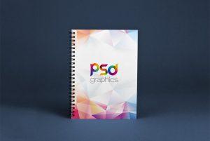 Spiral Notebook Mockup – Download Free PSD Mockups