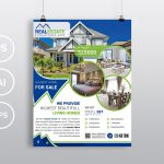 Real Estate - PSD Photoshop Flyer Template