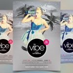Vibe – PSD Flyer Template