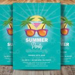 Vintage Summer Party - PSD Flyer Template