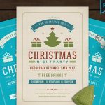 Christmas Party 2018 - Invitation PSD Flyer Template