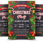 Christmas Party 2018 - PSD Flyer Template