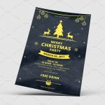 Christmas Invitation - PSD Flyer Template