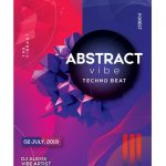 Abstract – Free Futuristic PSD Flyer Template