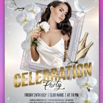 Celebration Party – Download Free PSD Flyer