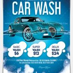 Car Wash - Download Free PSD Flyer