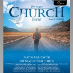 Church Event – Free PSD Flyer