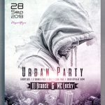 Urban Party – Free PSD Flyer
