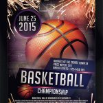 Basketball – Download Free PSD Flyer