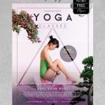 Yoga Classes - Free PSD Flyer