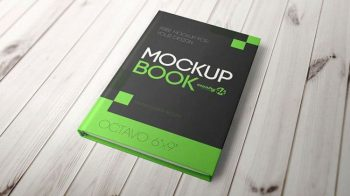 Book Cover - Free PSD Mockup