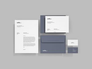 Simple Branding Stationery – Free PSD Mockup