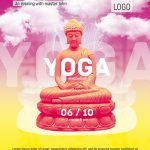 Meditation Yoga - Download Free PSD Flyer