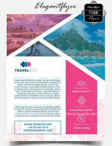 Travel Agency – Free PSD Flyer