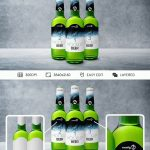 Bottle Beer – Free PSD Mockup