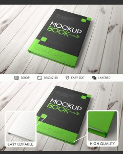 Book Cover – Free PSD Mockup