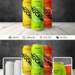 Beverage Can – Free PSD Mockup